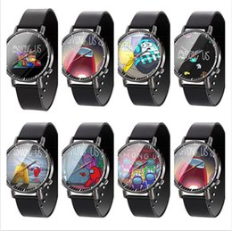 Wholesale dress games online – ideas 36color Among Us Game Watch Cartoon Game Print Watch Unisex Watches Designer Wrist Watch Analog Wristwatches Bracelet boutique F112104