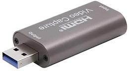 Улучшенные карты захвата видео, HDMI Capture Card 1080P 60fps, USB Ultra High Speed USB для игр, потоковая передача совместимых с Nintendo Switch на Распродаже