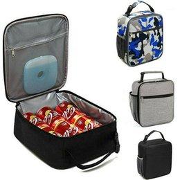 venda por atacado Camuflagem Saco de Almoço para Mulheres Homens Crianças Para Escola Grande Saco Isolado Termo Termo Cooler Adultos Tote Tote Box1