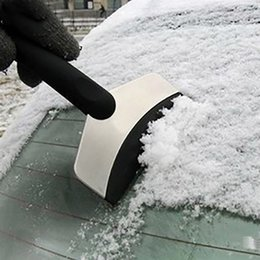 Durable Snow Ice Scraper Car Windshield Auto Ice Remove Clean Tool Window Cleaning Tool Winter Car Wash Accessories Snow Remover EEE3544 on Sale