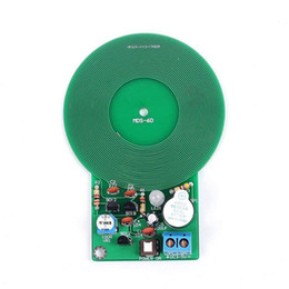 Wholesale solder kits for sale - Group buy Icstation Less than mm Simple Metal Detector for Assemble Kit DIY Electronic Soldering Practice Metal Sensor Buzzer Arduino