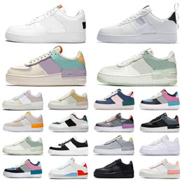 просто сделай это  оптовых-just do it af1 shadow dunk Utility Mens sports sneakers LV8 dunks Sketch Pack Low silk women men casual designer shoes Skateboard Chaussures Zapatos scarpe