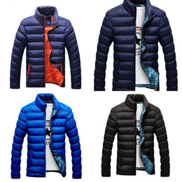 Wholesale mens quilted jackets for sale - Group buy FTLZZ New Autumn Winter Jackets Parka Men Warm Outwear Casual Slim Mens Coats Windbreaker Quilted Jackets Men M XL Z1210