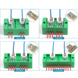Discount enclosures for electronics Household Wire Junction Plastic Electronic Box Terminal Wire Connection Enclosures For Electronics Project Box Household