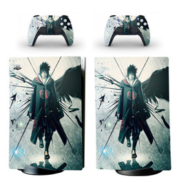 Naruto PS5 Digital Edition Skin Sticker Decal Cover for PlayStation 5 Console and 2 Controllers PS5 Skin Sticker Vinyl Y1201 on Sale