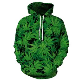 discount sweatshirts hoodies Canada - 2020 Spring 3D Printed Leaf Men Hoodies Top Quality Discount On Sales Free Shipping women Sweatshirts