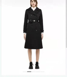 Wholesale women s trench coats for sale - Group buy Women Long Jacket Windbraker With Belt Adjust Coat Spring Autumn Jackets Dress Slim Style For Lady Trench Coats With Pockets