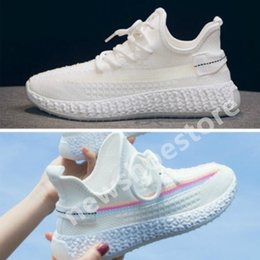 girls black colour shoes 2021 - hot 2021 Classical Colour Matching Beluga butter Cream Semi Frozen Yellow kanye west men women running shoes sports shoes Flat casual shoes