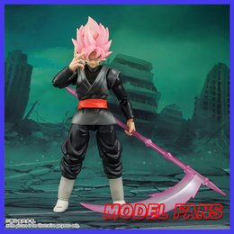 Wholesale goku black rose for sale - Group buy MODEL FANS IN STOCK DBZ Brinquedos Demoniacal Fit shf scale goku Black Rose Zamasu PVC Action Figure Q1215