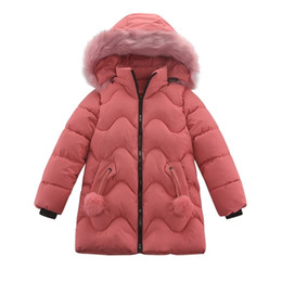 christmas coats for girls 2021 - Autumn Winter Children Coat Baby Girl Warm Hooded Jacket Kids Fashion Printed Outerwear Children's Christmas Costume For Girls 201104
