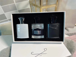 New discount perfume 3 pcs sets Aventus Tweed Silver mountain water fragrance long lasting time cologne 30ml*3 on Sale