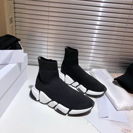 Wholesale men's toe socks for sale - Group buy 2021 New Designer Shoes Top Men s Socks Shoes Women Sneakers Triple Black Runner Trainers Comfortable Light Casual Shoes Size