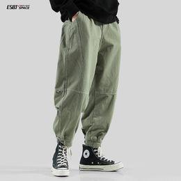 Wholesale harlem pants resale online – Tes autumn overalls men s fashion brand new trend loose casual versatile youth Harlem pants