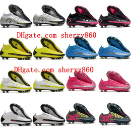 Wholesale elite fit for sale - Group buy 2020 cheap mens soccer cleats Phantom Scorpion Elite Dynamic Fit FG soccer shoes Crampons de football boots New Hot