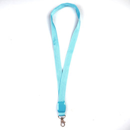 flashing led lanyard Australia - Luminous Lanyard LED Flash Of Light Work Card Lanyards Colour Nylon Safety Alert Fashion Hot Sale 6zsa UU