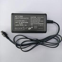 Adaptador de corriente de cámara para Sony AC-L200 L20 L25B L200B CX12E CX350E XR100E SX41E SR5E SR100E HC5E PC55 CAMERAS CAMERAS ADAPTADORES en venta