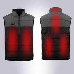 Warm Outdoor Heated Vest Camping Heating Suit Winter Jacket Sport Wear Thermal Electric Windproof USB Charging Fever Nov 18th