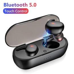 Y30 Tws Bluetooth 5.0 Kopfhörer drahtlos In-Ear-Geräuschreduzierung Stereo-Ohrhörer für Telefon-Spiel Anruf Sport-Kopfhörer mit Ladebox im Angebot