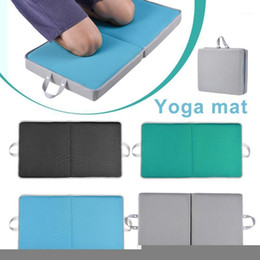 Yoga exercice Noir Jardin Knee Mat Pad Kneeler souple AGENOUILLOIR genou professionnelle pour travailler sur Genoux