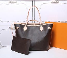 Vente en gros Sac à main sacs à bandoulière Haut de la qualité Bandbody pour femmes Sac en cuir Femmes Vintage 36-49 2 pièces