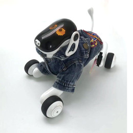 Discount toys robots HeLIC Max Remote Control Intelligent Robot Dog AI Electronic Pet Mobile APP Manipulation Bluetooth Speaker Multi-function LJ201105
