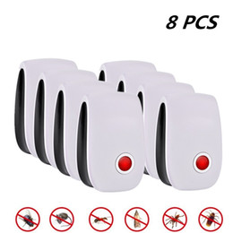 anti mouse pest Australia - 8pcs Pest Insect Control Ultrasonic Repeller Anti Mosquito Repellent Mouse Control Rejector Cockroach Rat Bug Rejection Y200106