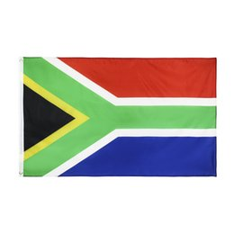 Wholesale south african flag for sale - Group buy South Africa Flag x5 FT Foot South African National Flags Flags Banner cm Polyester with Brass Grommets Home Garden Wall Boat Decor