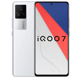 "Original Vivo IQOO 7 5G Mobile Phone 12GB RAM 256GB ROM Snapdragon 888 48MP Android 6.62"" 120Hz Screen Fingerprint ID Face Wake Cell Phone on Sale"