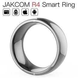 Jakcom R4 Smart Ring Nuevo producto de la tarjeta de control de acceso como copiador de ID Naklejki RFID Android RFID RF en venta