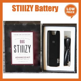 Wholesale battery advances resale online - Big Stiiizy Battery Kit Advanced Kit Vaping Battery mah Rechargeable Dry Herb Mod Accessories Fit Stiiizy Pods Cartridge with USB Cable