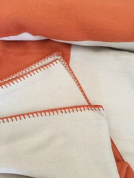 Letter Blanket Soft Wool Scarf Shawl Portable Warm Plaid Sofa Bed Fleece Spring Autumn Women Throw Blankets on Sale