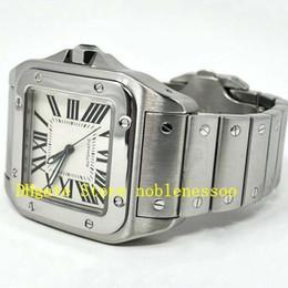 Großhandel 2 Color Top Herren Automatik 100 XL W200737G W200728G Stahl Gelbgold Weiß 2656 38mm Uhr Armband Männer Herren Mechanische Uhren
