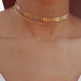 Collana di osso di pesce collana di aeroplano colletto collana catena di collare in Offerta