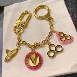 Mode bloemontwerp sleutelhanger charme sleutel ringen voor heren en vrouwen party liefhebbers cadeau sleutelring sieraden nrj