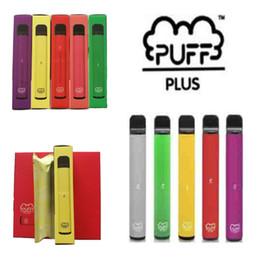 Puff Plus Poep Bar Plus 800+ Одноразовый одноразовый картридж Vape POD 550mAh аккумуляторная батарея 3.2ML Предварительно заполненная древесных стручков Poed Puff Plus Plus портативный испаритель на Распродаже