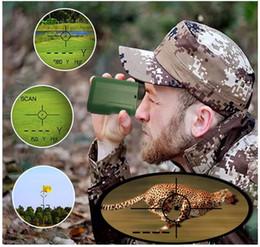 Опт Laser Headfinder Hunting DradeFinder 650 ярдов Ассортимент Finder для Golf 6x Цифровые дальнорогики с измерением скорости режима наклона в США
