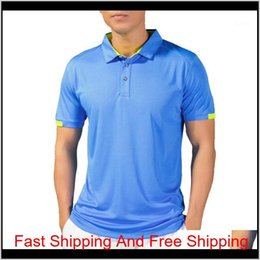 slim fit gym t shirt 2021 - Jerseys Shirt Men Quick Dry Breathable Golf Tshirts Running Slim Fit Tops Tees Sport Fitness Gym Tennis T Shirts Tee1 Ackgk 2Dw3K
