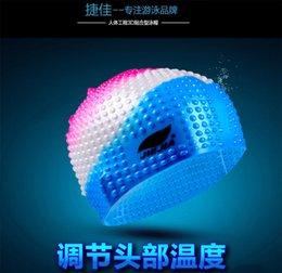 Опт 2021 Силика-гель Плавательный колпачок Чистый цвет Водонепроницаемая дышащая удобная комфортабельная BBB555 CAPET CAPEN MELS и женщин взрослых радуга