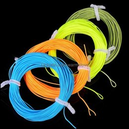 Lines Sports & Outdoorsweight Forward Floating Fishing Line Wf-2F 3F 4F 5F 6F 7F 8F Moss Green Orange Fluo Yellow Color Braid Drop Delivery on Sale