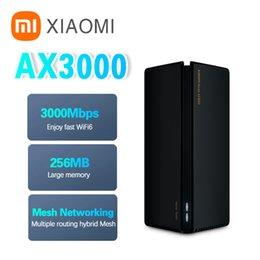 Xiaomi YoupinワイヤレスルーターAX3000 WiFi 6メッシュ3000Mbpsリピーター2.4g 5GフルギガビットOFDMA VPNシグナルアンプエクステンダPPPOE
