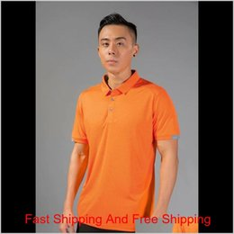 slim fit gym t shirt 2021 - Gym Polo Running Shirt Men Quick Dry Breathable Golf T-shirts Running Slim Fit Tops Tees Sport Fitness qylBtd hairclippers2011