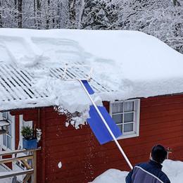 Грабли снежной крыши Waco по лавину, алюминиевая рама тканью голова на крыше снежного съемки Shovel предотвращать ледяные плотины и повреждение 1,2 м 5 разделов 20feet на Распродаже