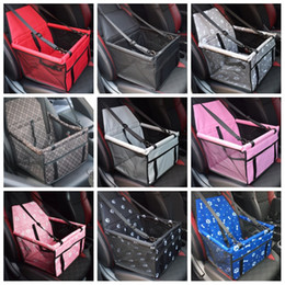 Folding Pet Supplies Waterproof Dog Mat Blanket Safety Pet Car Seat Bag Double Thick Travel Accessories Mesh Hanging Bags Pet car on Sale