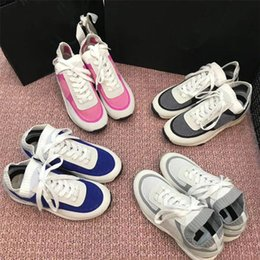 Top Quality Women's Sports Shoes Genuine Leather Sneakers Lux Brand Flats Size 35-41 on Sale