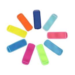 MULTICOLOR 18 * 6 см замороженные эскимо стойки неопреновые водонепроницаемые эскимовые рукава детские летние кухонные инструменты портативный и практичный на Распродаже
