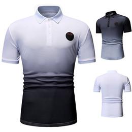 Wholesale 2021 Fashion Summer Men Polo Casual CottonPolos Men's Breathable Short Sleeve Tee Shirt Golf Tennis New Brand Clothes