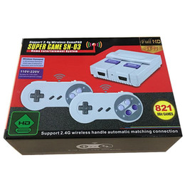 Wireless HD TV game console SNES821 home game console SFC high definition FC Red and white machine nostalgic retro on Sale