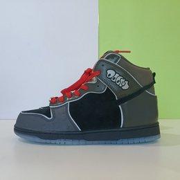 Toptan satış Son MF Doom Dunk Paten Ayakkabı erkek Spor Ayakkabı Eski Stil Sneakers Boyutu 40-47.5