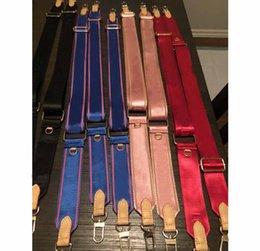 venda por atacado Correias de ombro para 3 peças set sacos armário porta organizadores pendurado corda mulheres crossbody bolsa de lona peças cinta blak azul verde hh21-329