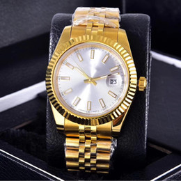 couple watches automatic 2021 - Wholesale Fashion Men Women Classic Watch Designer Stainless Steel Couple Watches Mens Watches Automatic Movement Glide Wristwatch